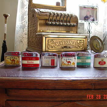 Tobacco Advertising... Smoking Memorabilia...Lighters From The Fifties And Sixties - Tobacciana