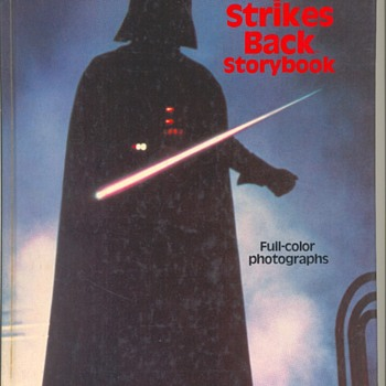 "1979 STAR WAR ""Empire Strikes Back"" StoryBook"