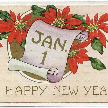 Happy New Year - Postcards