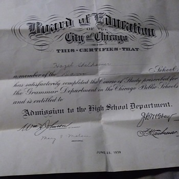 some sort of warrant from Dwight H Green