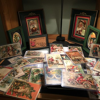 Santa hold to light galore  - Postcards