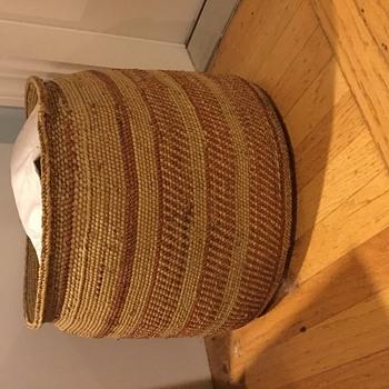 Basket of unknown origin - Native American
