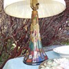 1923 Gouda Pottery Table Lamp