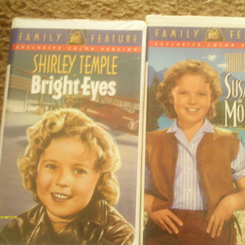Shirley Temple movies called Bright Eyes and Susana of the mountain