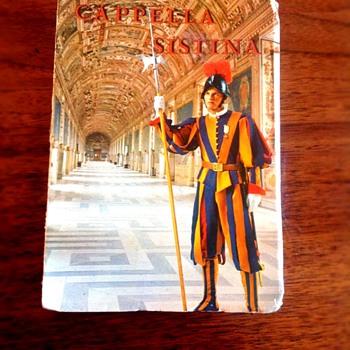 Capella Sistina - Postcards