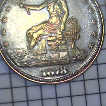 1878 trade dollar - US Coins