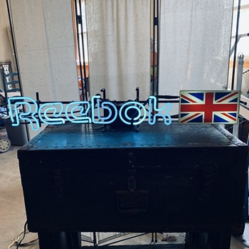 Great find today! Reebok neon sign! - Signs