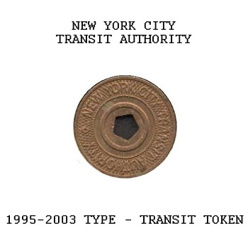 1995-2003 - New York City Transit Token - US Coins