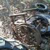 One old wheelchair