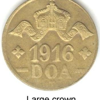 German East Africa 20 Heller Coins