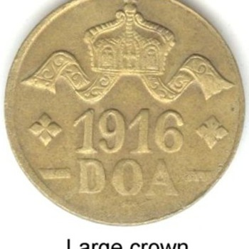 German East Africa 20 Heller Coins   - World Coins