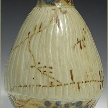 Three Karin Blom Royal Copenhagen Stoneware Japonist Style Vases - Pottery