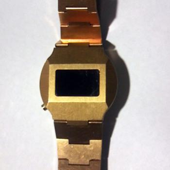 vintage Pultron digital watch