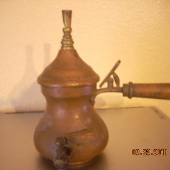 L.W. copper tea kettle - Kitchen