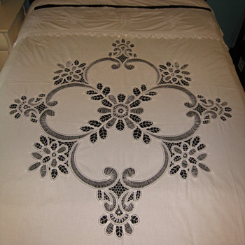 Cutwork Curtain or Bedcover