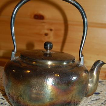 Silver Teapot Mystery - Silver