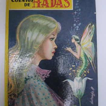 Vintage fairy tale book.
