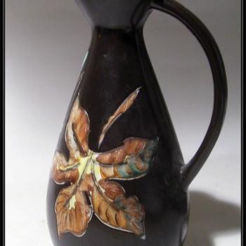 Vintage Canadian Ceramic ** HERTA **  Pottery Pitcher  - Vancouver, BC - Mid-Century Modern