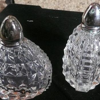Pretty Little Unusual Salt & Pepper Shakers