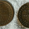 Travelers Insurance Co. 100th & 125th Anniversary Medallions