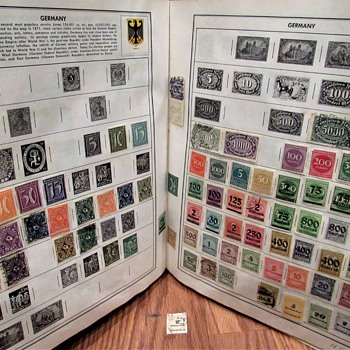 Stamps, Stamps, Stamps! World-wide Postage Stamps c.1920's-1960's - Stamps