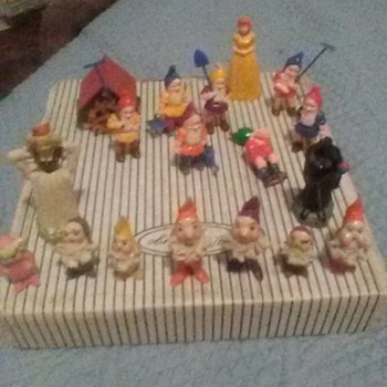 Snow White and the seven dwarfs - Figurines