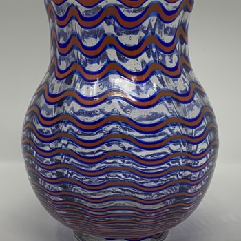 Late Loetz Spiegelau Period Vase, unknown decor, ca. 1939 - Art Glass