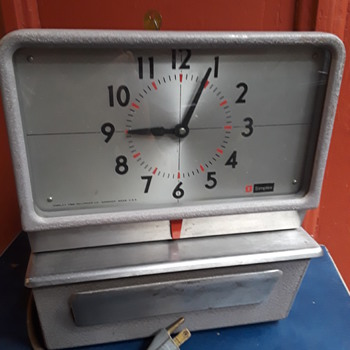 SIMPLEX time recorder/punch clock - Clocks