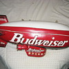 "Wooden Replica of the Budweiser ""Bud One"" Blimp"
