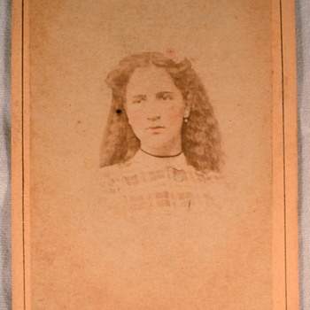 Martha Topping Photo Album dating help Prt 4a: Cabinet Cards - Photographs