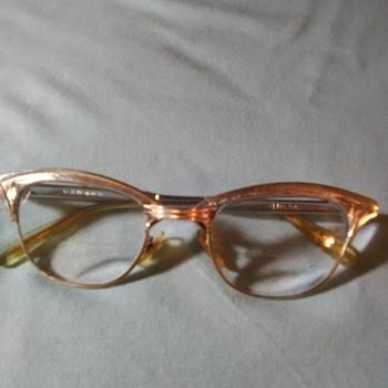 Aluminu, gold, antique eyeglasses - Accessories