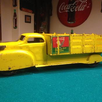 1940's Marx Coca Cola truck - Coca-Cola