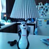 Vintage Hamms lamp