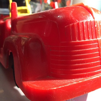Red plastic and steel  - Model Cars