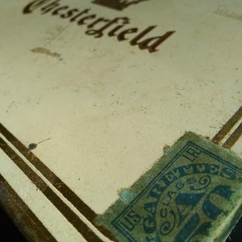 Chesterfield Cigarette Tin!  - Advertising