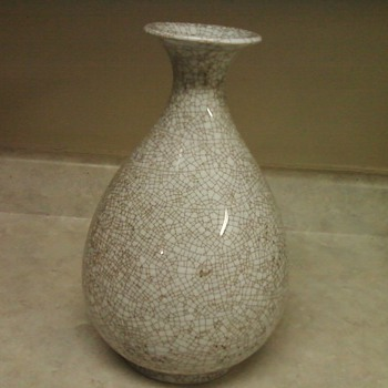 PEAR SHAPE VASE - Asian