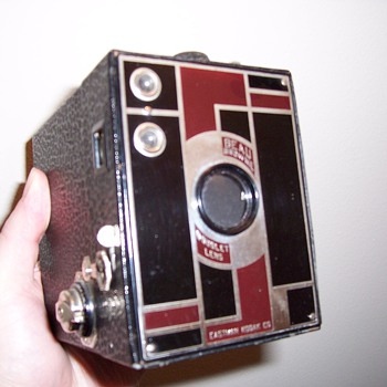 Art Deco Beau Brownie Camera