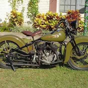 1937 Harley WL45 - Motorcycles