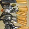 Bakelite cutlery modge podge