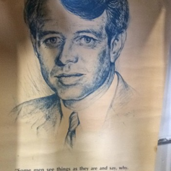 Robert Kennedy Campaign Poster by AA Sales, Seattle