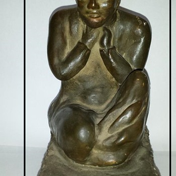 Sculpture of Male - Fine Art