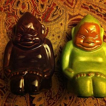 Billiken Miniature FrankX2 Frankoma - Pottery