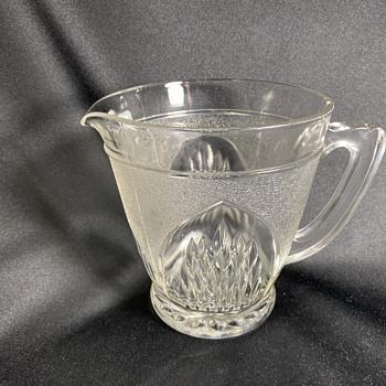 EAPG Glass pitcher - Glassware