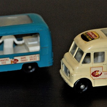 1963 Commer Ice Cream Canteen #47 - Model Cars