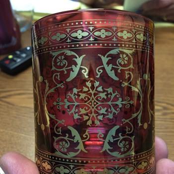 Antique cocktail glass set?? - Glassware