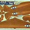 KELLOGS PEP  WW2 PAPER AIRCRAFT