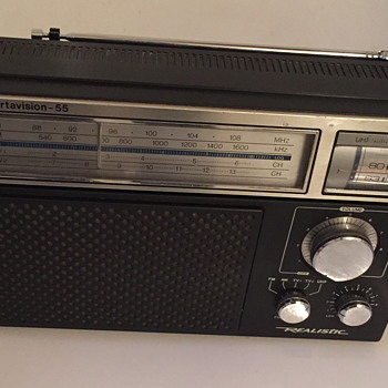 Portavision-55 Realistic radio. - Radios