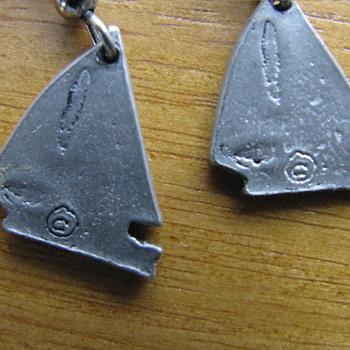 Earring ? Sterling Silver - Costume Jewelry