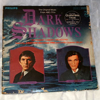 Dark Shadows; Album and Poster - Records