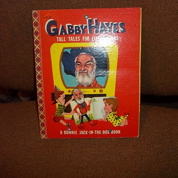 1954 GABBY HAYES  CHILDRENS BOOK